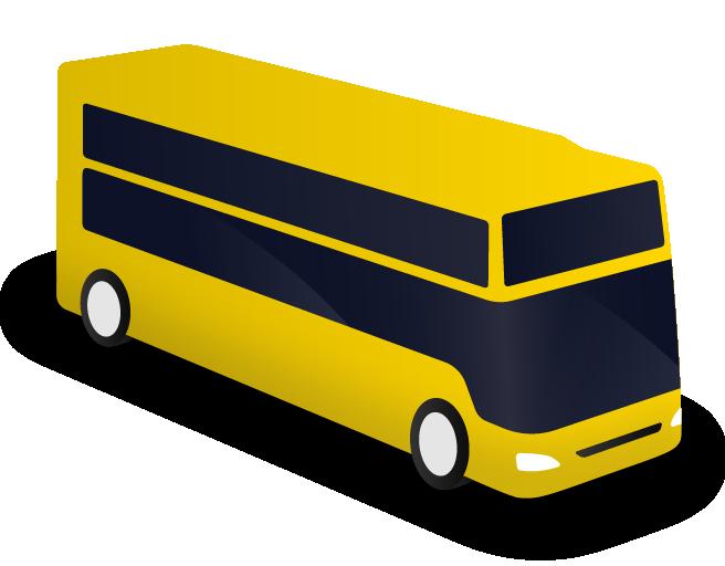 Large bus rental